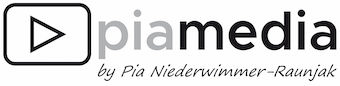 Pia Media by Pia Niederwimmer-Raunjak Logo